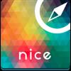 Nice (France) offline map, guide & hotels