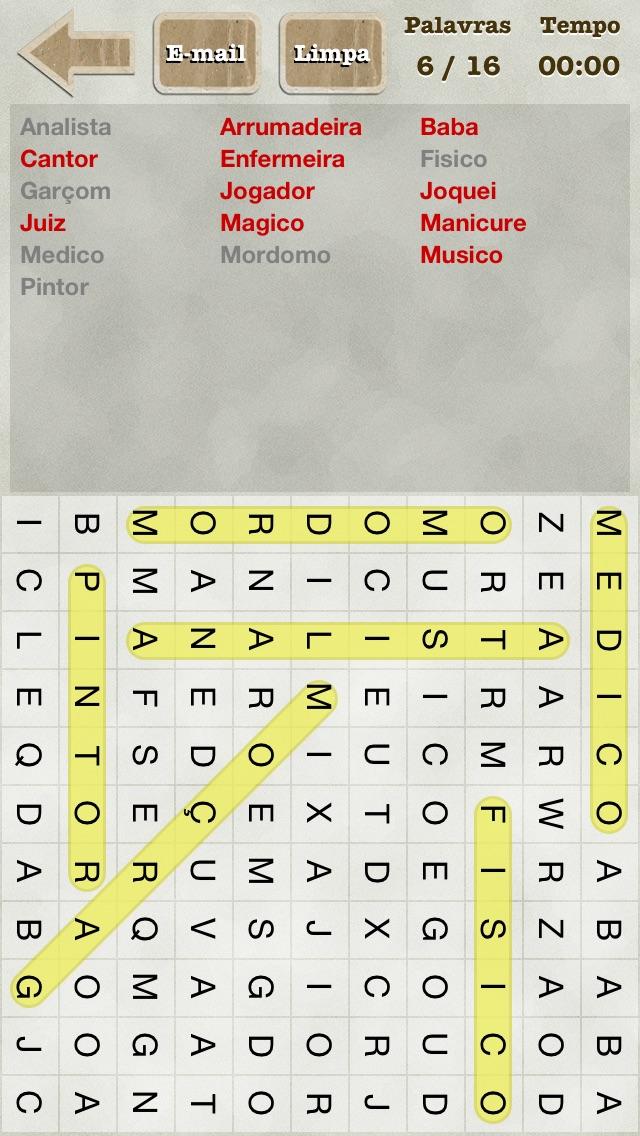 Caça-Palavras screenshot1