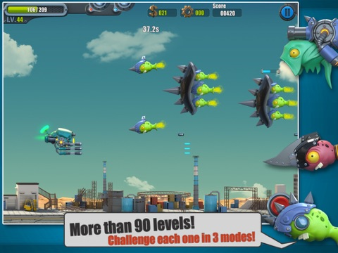 Screenshot #1 for Flight Fight 2 HD