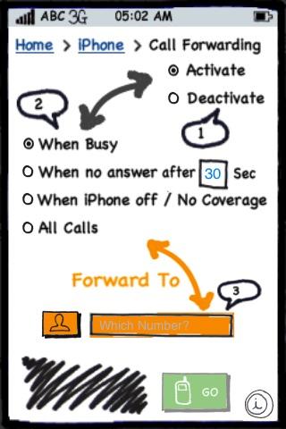Call Divert screenshot 1
