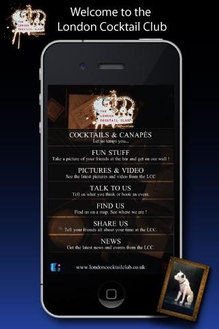 London Cocktail Club screenshot 1