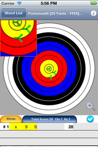 Archery Score Free screenshot 1