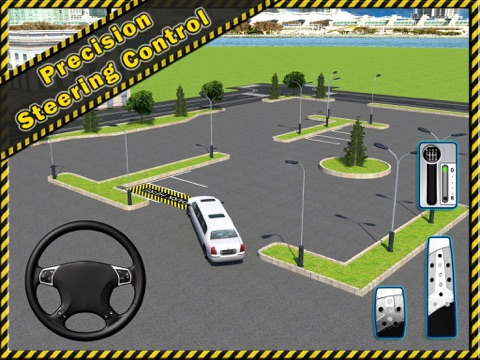 Screenshot #6 pour Limousine Parking 3D - Realistic Limo Driving Free Racing Game