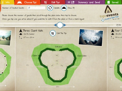 Invent a Tent - Tap out a Tipi screenshot 2