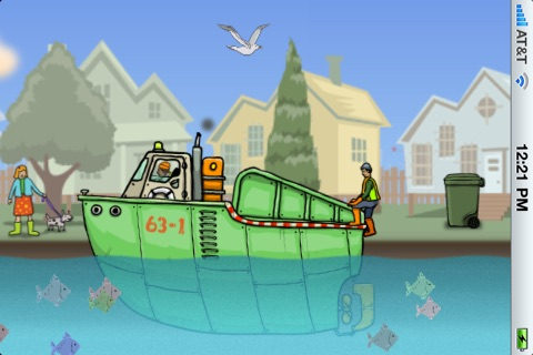 Garbage Boat screenshot 3