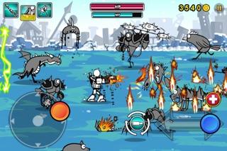 Screenshots of Cartoon Wars: Gunner Lite for iPhone