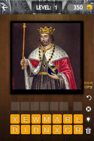 British Monarchy Quiz - Guess All Great Britain's Monarchs In History screenshot 1