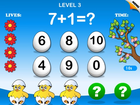 Abby Monkey: Spring Math - Math Games Free screenshot 2