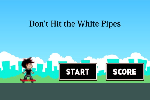 Don't Hit the White Pipes: Tap and Step on It screenshot 1