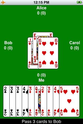 iHearts - Hearts Card Game screenshot 1