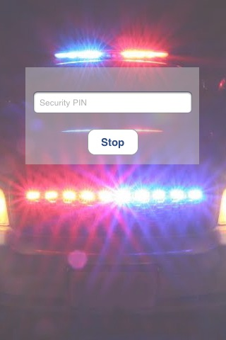 Alarm Security Anti-Touch (Gunshot and Police S... screenshot 4