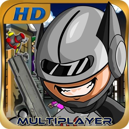 robot bat new cool super hero: best police man kids running multiplayer game 2014 iOS App
