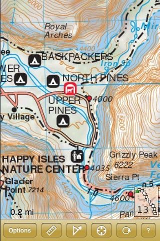 John Muir Trail Map on the App Store