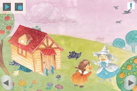 Oz Wizard 미리보기 : 어린이를 위한 움직이는 동화 screenshot 4