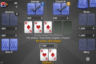 THTouch - Texas Holdem Poker screenshot two