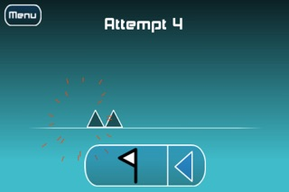 Screenshots of The Impossible Game Lite for iPhone