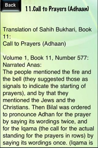Sayings on Adhaan(Call for Prayer) screenshot 2