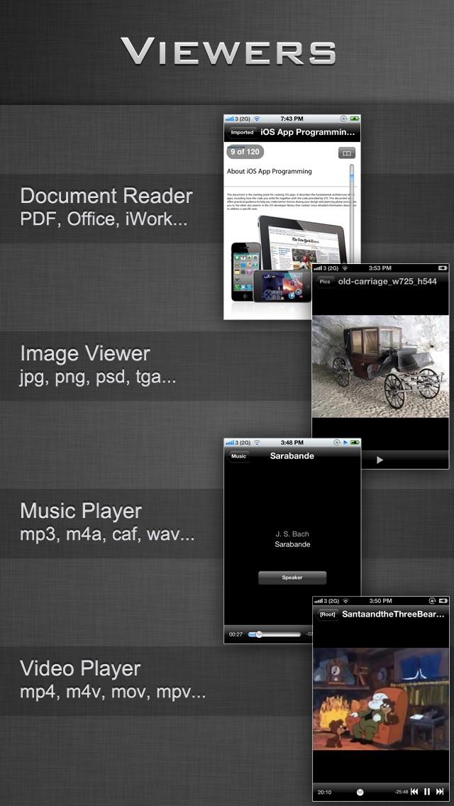 File Manager - Folder Plus LiteScreenshot of 2