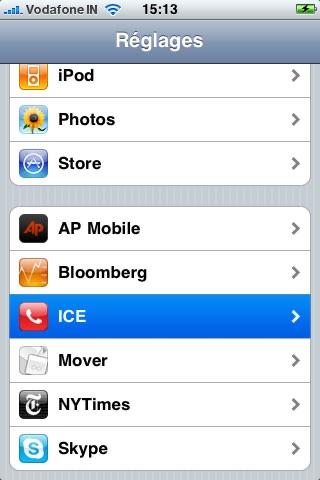 ICE, In Case of Emergency screenshot 4