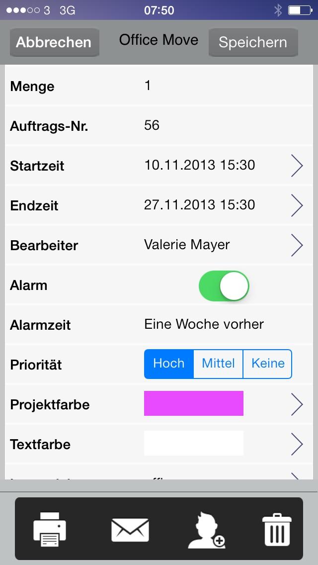 Screenshot von To-Do, Aufgaben, Projekte, Dokumente und Zusammenarbeit im Team2