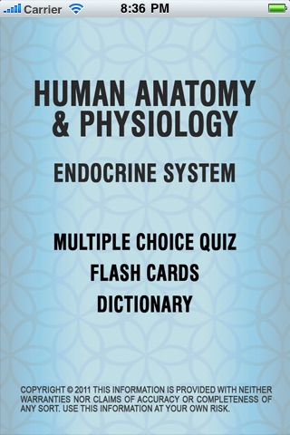 Endocrine System - Multiple Choice Quizzes, Flash Cards, Dictionary ...