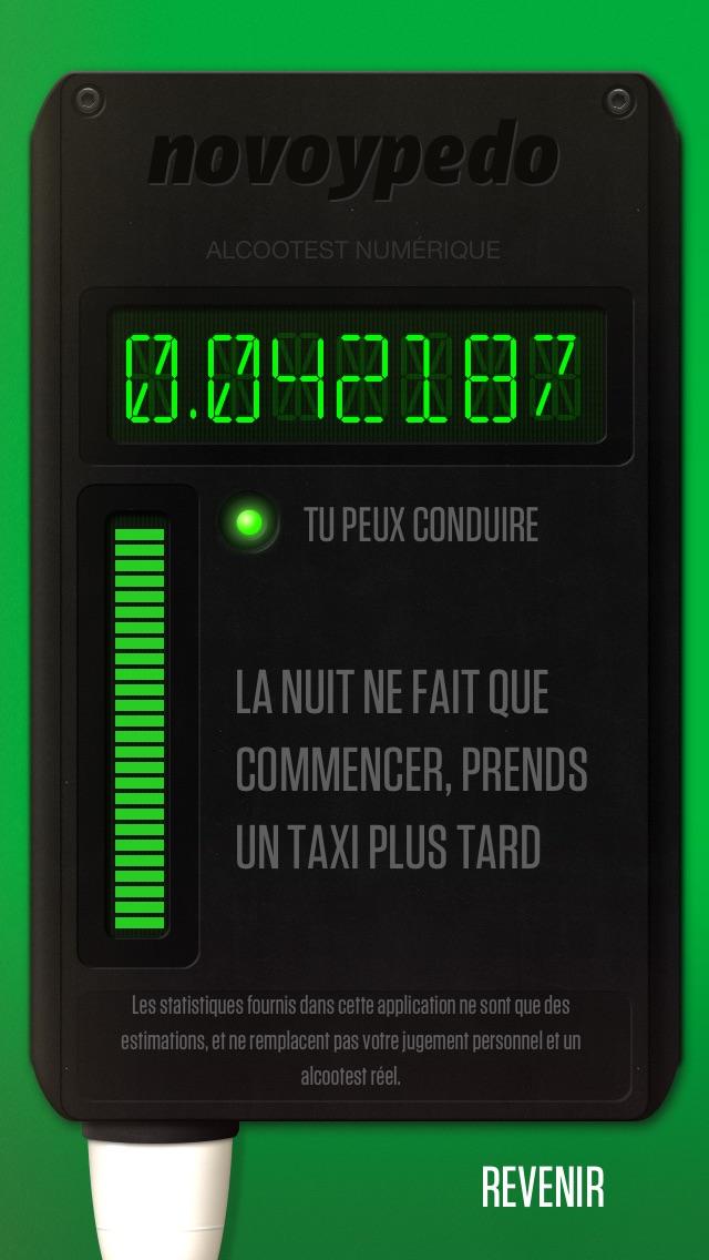 JeSuisBourré Alcootest  FreeCapture d'écran de 2