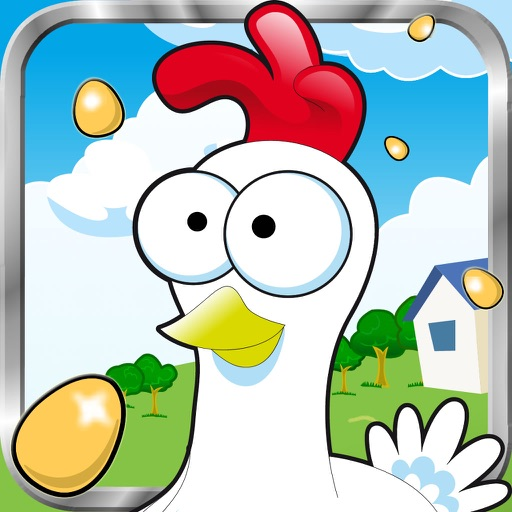 Chicken Jump - run and fly  with the best wings to save the little chick iOS App
