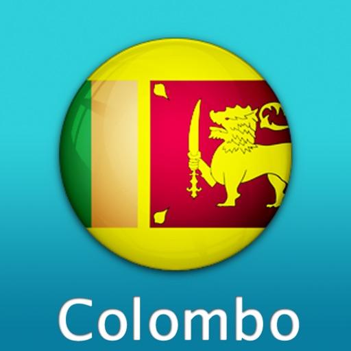 科伦坡自由行地图 (斯里兰卡)