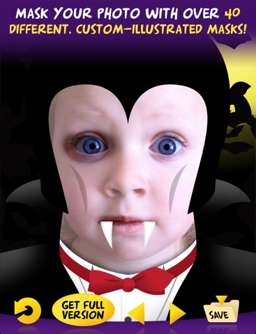 Mask Mania HD Free - Funny Face Maker screenshot 1