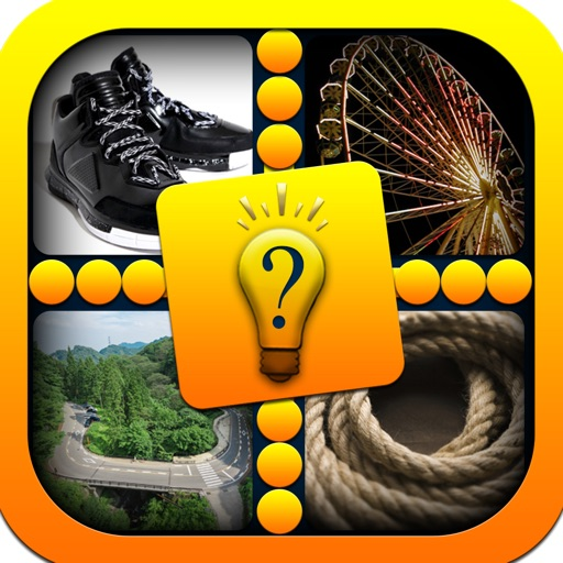 Pics & Guess Word Pro - Cool brain teaser and mind addicting picture puzzle game Icon