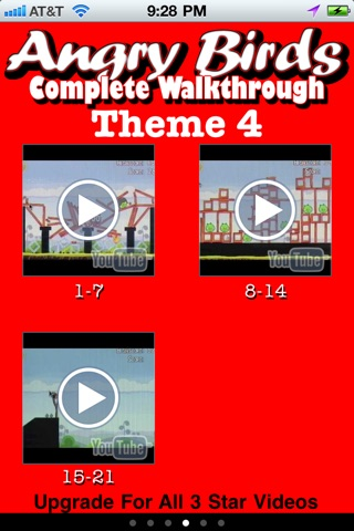 download Free 3 Star Videos for Angry Birds apps 0