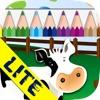 Crea e colora: la fattoria  LITE