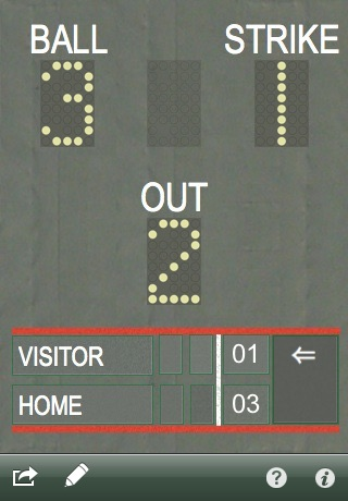 Count Keeper - Baseball and Softball score and count tracker screenshot 3