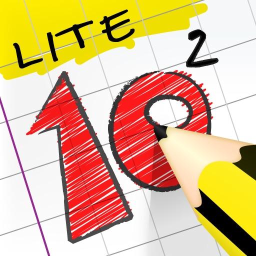 Ten Squared Lite - Logic Puzzle Game iOS App