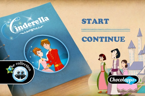 Cinderella by Chocolapps screenshot 1