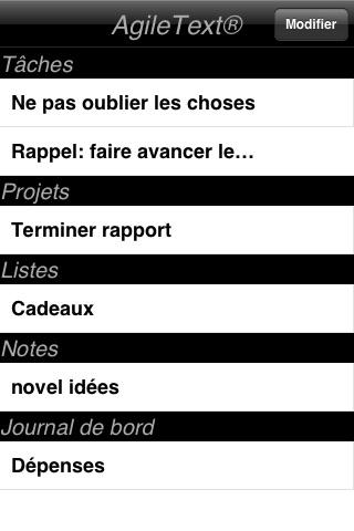 AgileText® Noter Lite screenshot 2