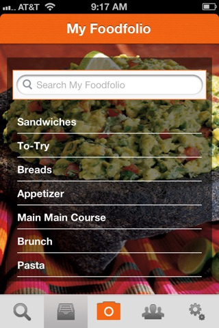 Foodfolio screenshot 4