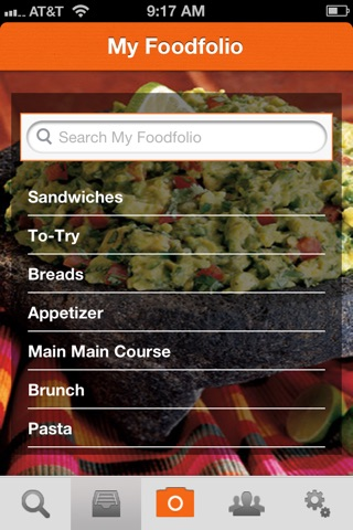 Foodfolio screenshot 4