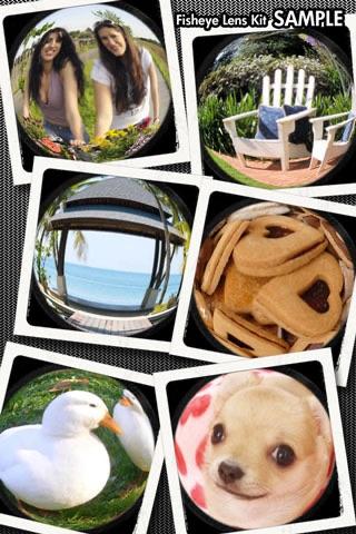 魚眼レンズ キット screenshot1