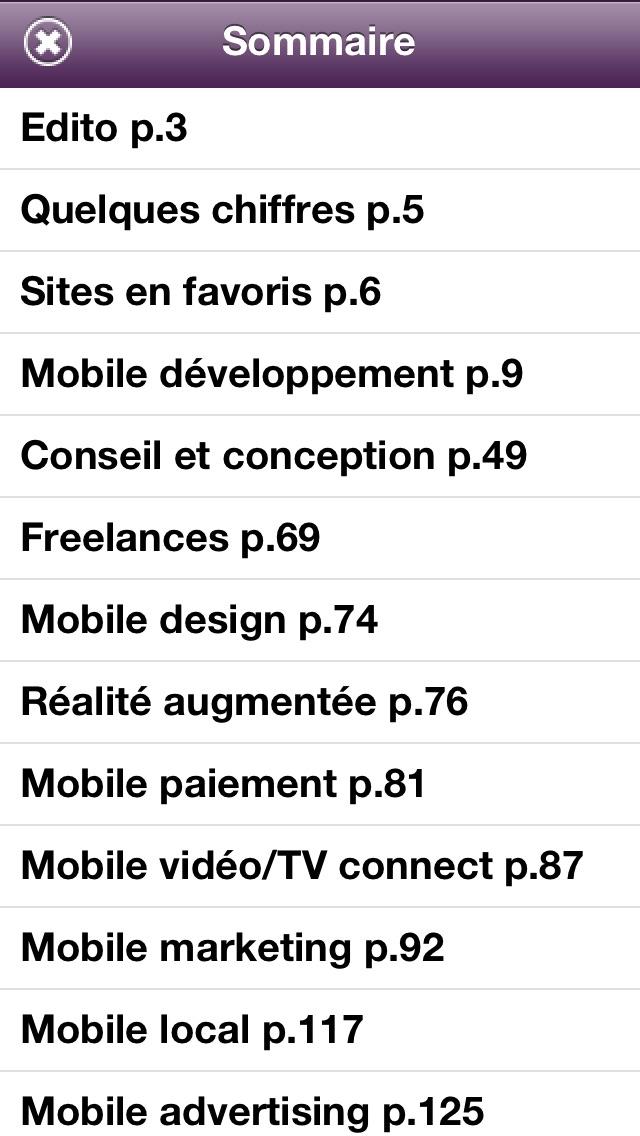 La French MobileCapture d'écran de 3