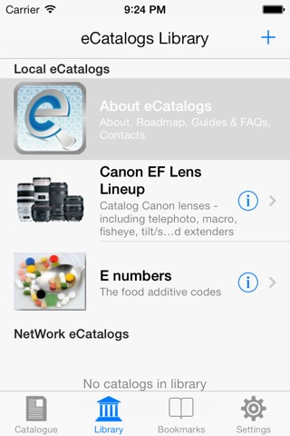 eCatalogs screenshot 1
