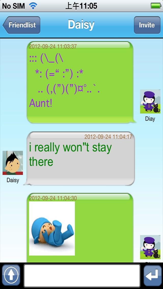 Live Messenger Pro Screenshot 1