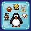 Serpente di Animali (pinguino, ape, cane, scimmia, coniglio, cavallo)