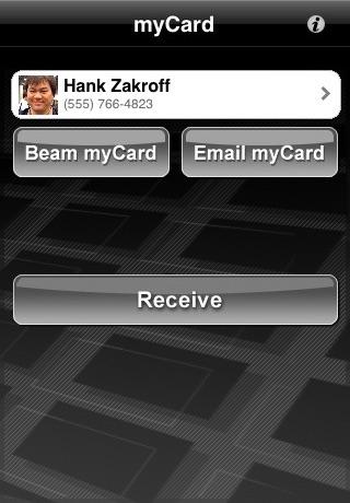 myCard screenshot 1