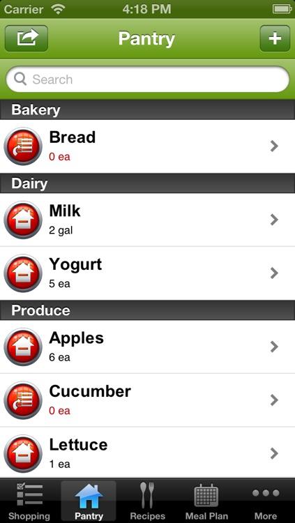 grocereaze app screenshot