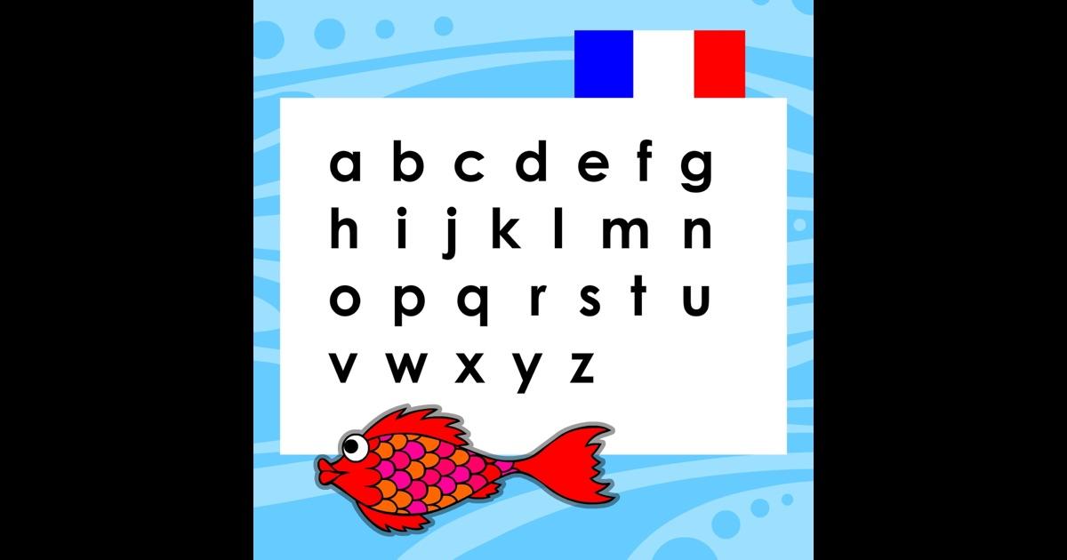 Alphabet fran ais poisson rouge dans l app store for Acheter poisson rouge nanterre