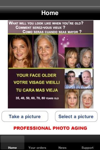 Screenshot of VISO INVECCHIATO - OLD AGE FACE2