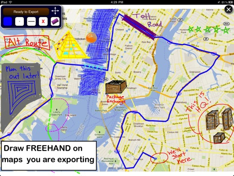 Map Draw - Route tracking and Annotation (Elite) screenshot 3