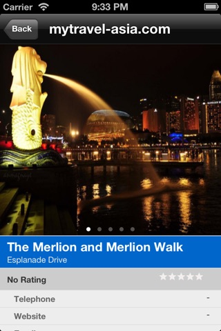 MyTravel Singapore screenshot 4