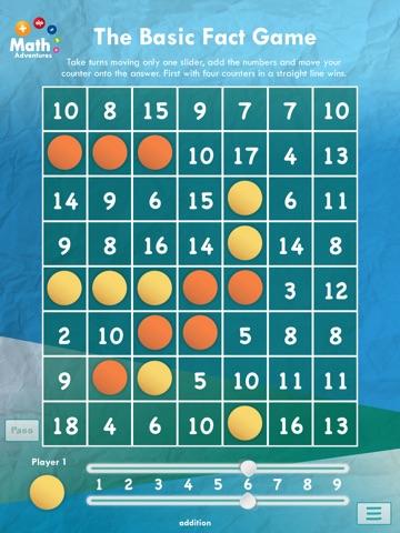 The Basic Facts Game: Free screenshot 4